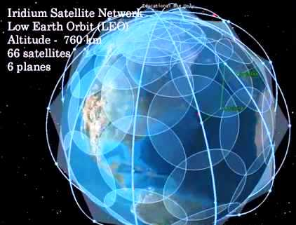 66 Satellites in 6 Orbits set for 666 Monitoring